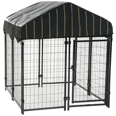 Lucky Dog� Pet Resort Steel Yard Kennel