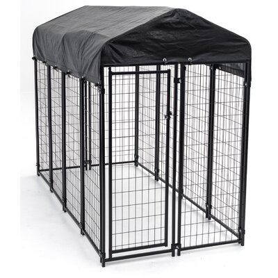 Lucky Dog Uptown Yard Kennel Size: Large (72 H x 48 W x 96 D)