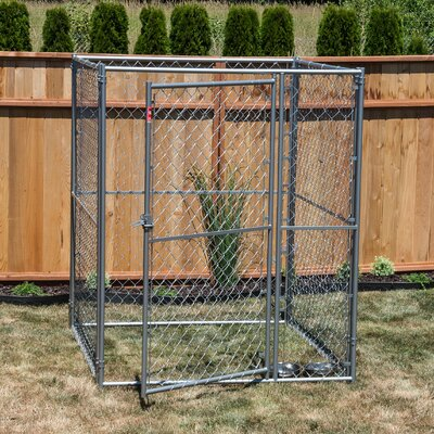 Lucky Dog� Steel Modular Chain Link Yard Kennel