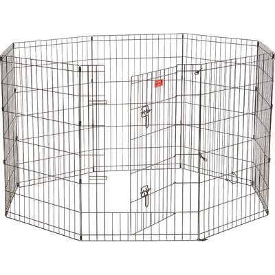 Lucky Dog 8 Panel Hd Dog Pen Size: 36