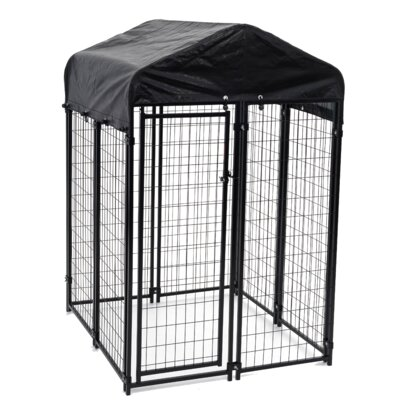 Alina Uptown Yard Kennel Size: Small (72 H x 48 W x 48 D)