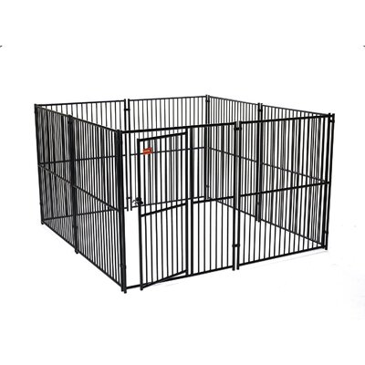 European Style Wide Yard Kennel Size: 6 H x 10 W x 10 L