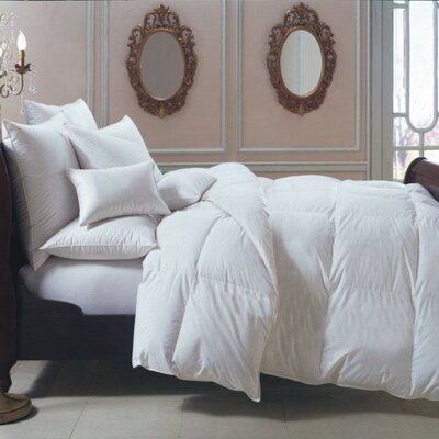 Bernina Heavyweight Down Comforter Size: Oversize Queen