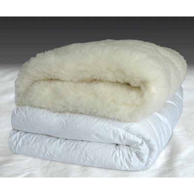 Merino Wool Mattress Pad Size: King