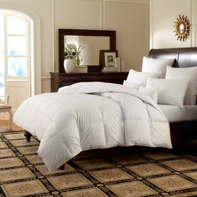 Logana Batiste Heavyweight Down Comforter Size: Oversize King