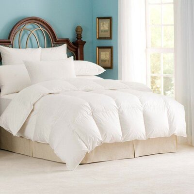 Nirvana 700 Heavyweight Down Comforter Size: Oversize Queen