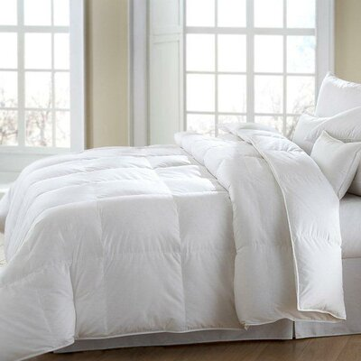 Mackenza Heavyweight Down Comforter Size: Oversize Queen
