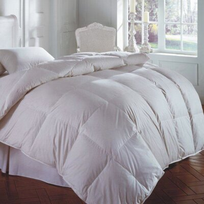 Cascada All Season Down Comforter Size: Oversize King