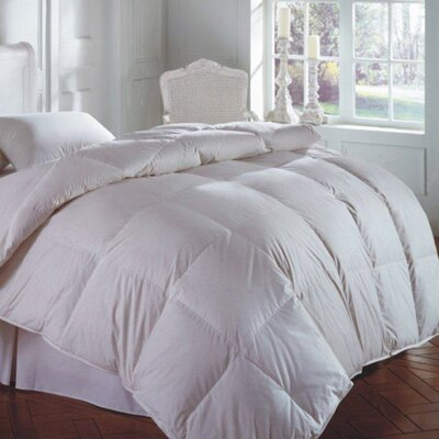 Cascada Heavyweight Down Comforter Size: Super Queen