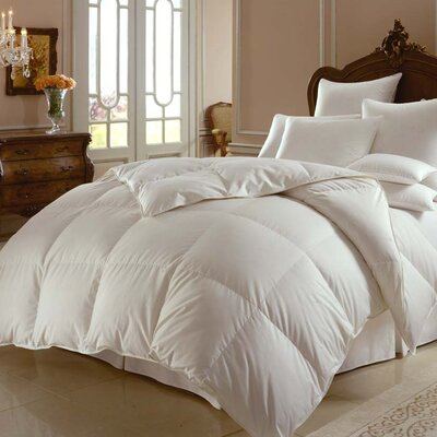 Himalaya 800 Lightweight Down Comforter Size: Oversized Queen
