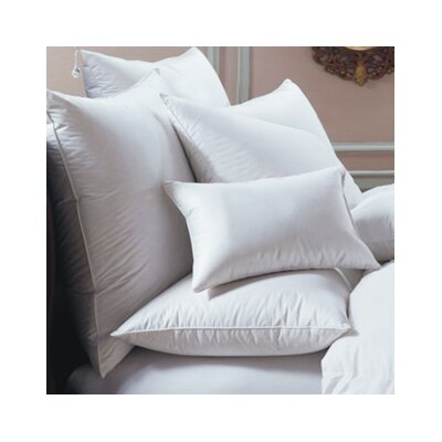 Bernina Euro Goose Down and Feathers Pillow Size: Standard
