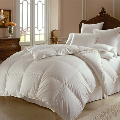 Himalaya 700 Heavyweight Down Comforter Size: Oversized Queen
