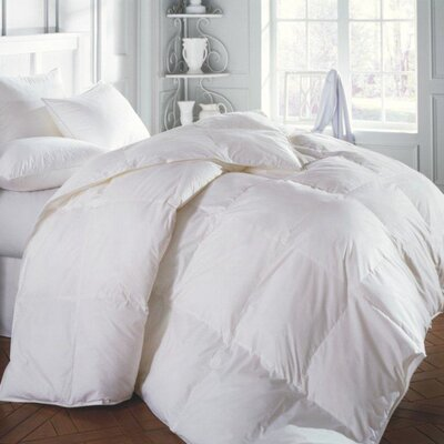 SIERRA Medium Comforel Down Alternative Pillow Size: Queen