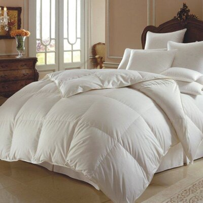 HIMALAYA 700 Goose Down Pillow Size: Queen, Density: Firm