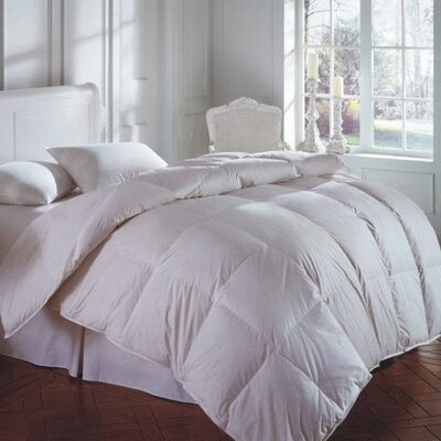 CASCADA Firm Goose Down and Feather Pillow Size: King