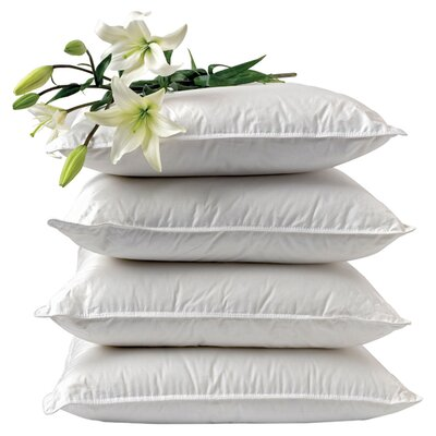 Essential Synthetic Down Alternative Pillow Size: Standard