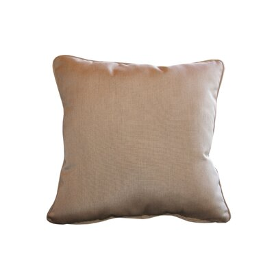 Sunbrella Cushion Indoor/Outdoor Throw Pillow Fabric: Canvas Heather Beige, Size: 6 H x 20 W x 20 D