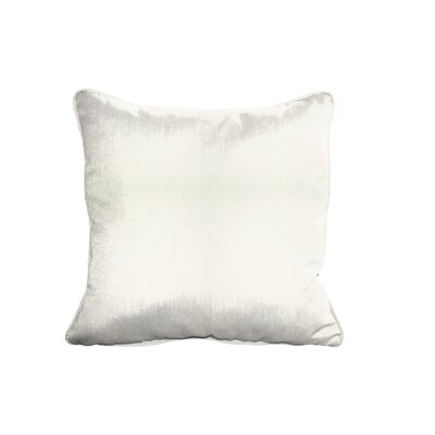 Sunbrella Cushion Indoor/Outdoor Throw Pillow Fabric: Canvas Natual, Size: 6
