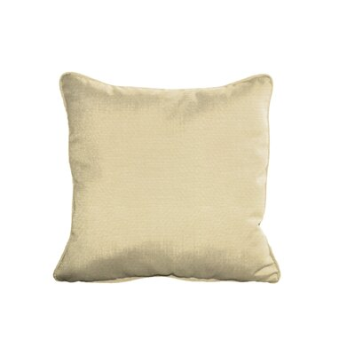 Sunbrella Cushion Indoor/Outdoor Throw Pillow Fabric: Canvas Antique Beige, Size: 6 H x 15 W x 15 D