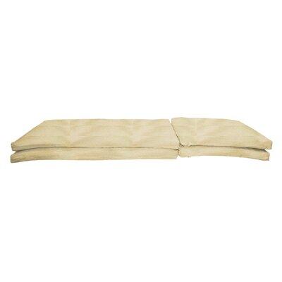 Outdoor Sunbrella Chaise Lounge Chair Cushion Fabric: Antique Beige