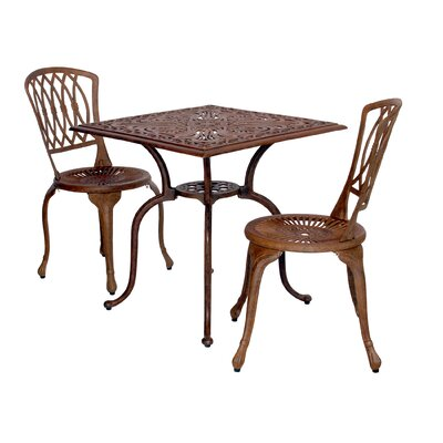 Bellini Padre 3 Piece Chaise Bistro Set Best Price