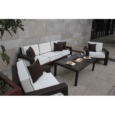 BELLINI Clima 4 Piece Deep Seating Group with Cushions at Sears.com