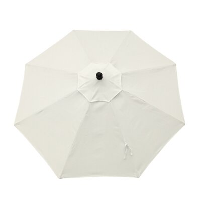 9ft Resort Market Umbrella Fabric: Canvas Natural