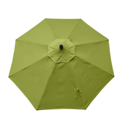 9ft Resort Market Umbrella Fabric: Spectrum Kiwi