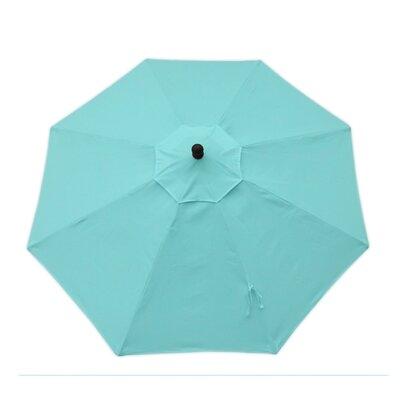 9ft Resort Market Umbrella Fabric: Canvas Abura