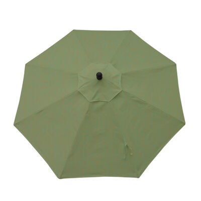9ft Resort Market Umbrella Fabric: Canvas Fern