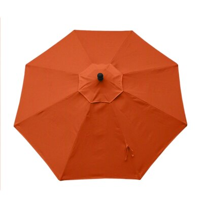 Resort 9' Market Umbrella Fabric: Canvas Tuscan UM90RZSB2037