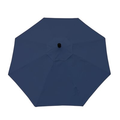 9ft Resort Market Umbrella Fabric: Canvas Navy