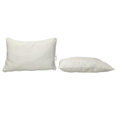 Outdoor Sunbrella Lumbar Pillow Color: Canvas Natural