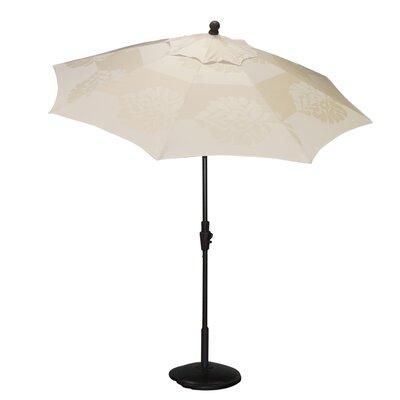 9 Resort Market Umbrella Fabric: Beige / Off White