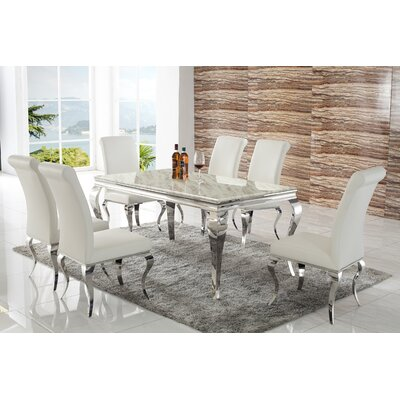 Fusion 7 Piece Dining Set