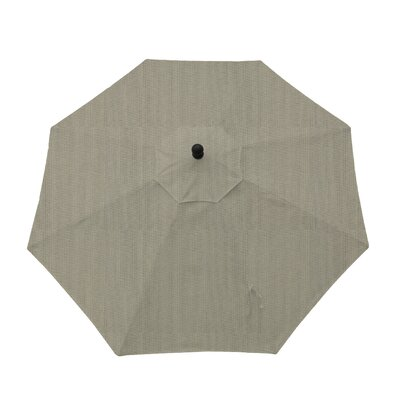 9ft Resort Market Umbrella Fabric: Spectrum Dove