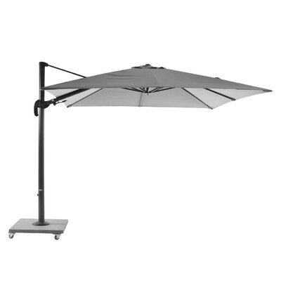 10 Block Palermo Cantilever Umbrella Finish: Lava