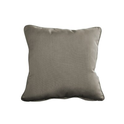 Outdoor Sunbrella Throw Pillow Size: 15 H x 15 W, Color: Spectrum Dove