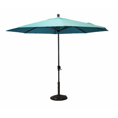 11 Resort Market Umbrella Fabric: Blue - Canvas Aruba