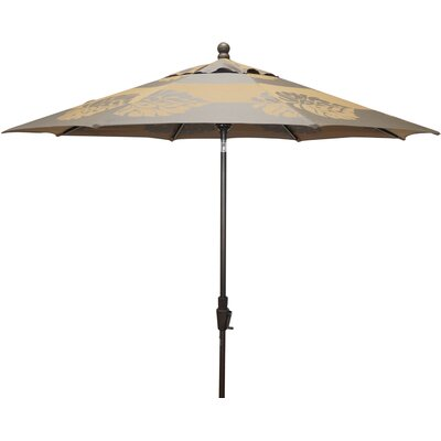 9 Resort Market Umbrella Fabric: Taupe / Brown