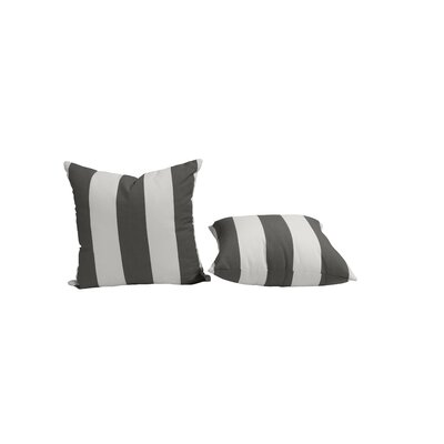 Outdoor Sunbrella Throw Pillow Size: 20 H x 20 W, Color: Cabana Classic