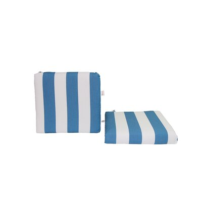 Outdoor Sunbrella Seat Cushion Fabric: Cabana Regatta