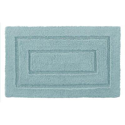 Robbie Bath Rug Color: Aqua, Size: 24 H x 40 W