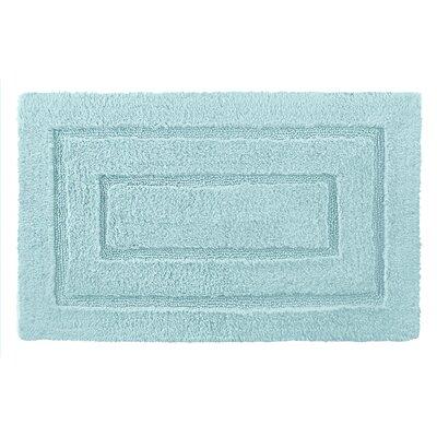 Robbie Bath Rug Size: 20 H x 32 W, Color: Caribbean Blue