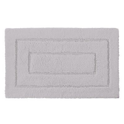 Robbie Bath Rug Color: Dolphin Gray, Size: 24 H x 40 W