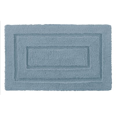 Robbie Bath Rug Size: 20 H x 32 W, Color: Mineral Blue