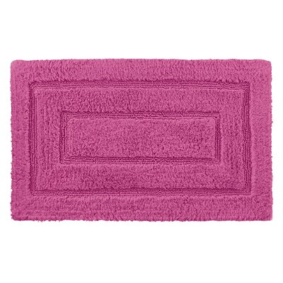 Robbie Bath Rug Color: Pinkberry, Size: 24 H x 40 W