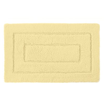 Robbie Bath Rug Color: Pineapple, Size: 24 H x 40 W