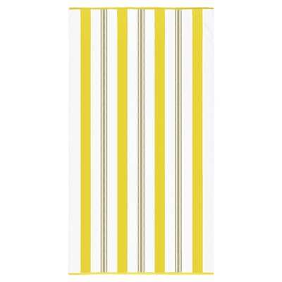 Spiaggia Cabana Beach Towel Color: Yellow