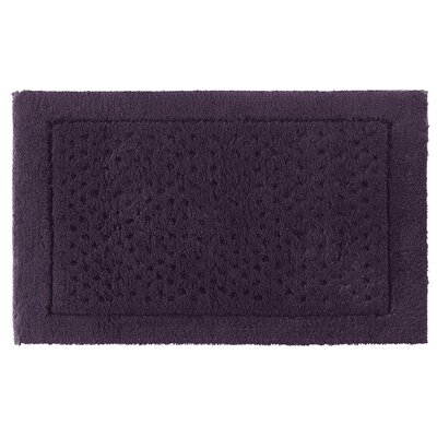 Sublime Bath Rug Color: Prune, Size: 20 W x 32 L
